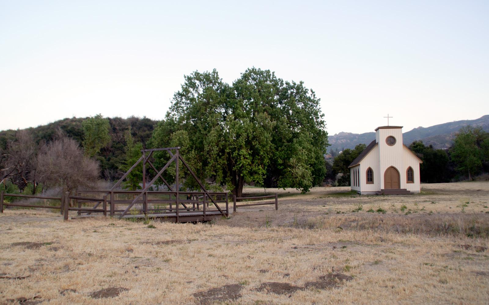 Paramount Ranch - Church Building