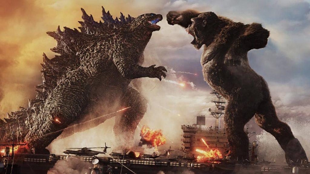 A meeting of titans - Gozilla vs. King Kong (image: WB & Legendary)