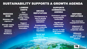 Sustainability supports a growth agenda (credit: The Coca-Cola Company)