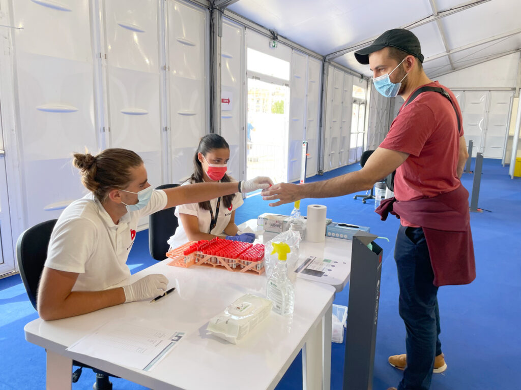 COVID Testing at the 2021 Cannes Film Festival
