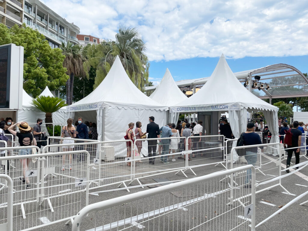 The Lines for Screenings at the2021 Cannes Film Festival