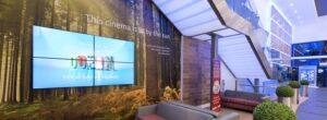 Odeon Milton Keynes communicates its solar power utility to customers
