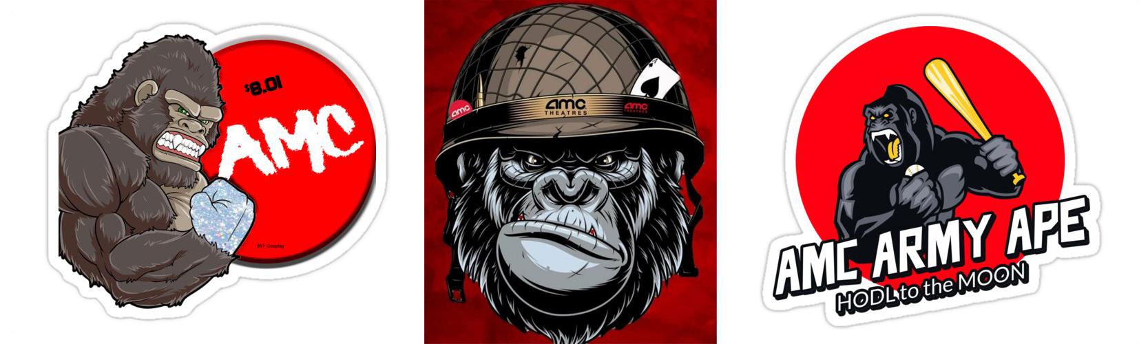 AMC Ape Army Illustrations