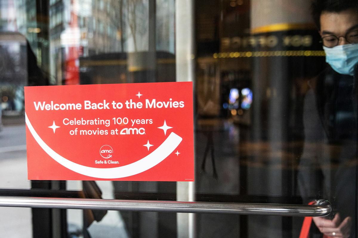 AMC Reopens Theatres